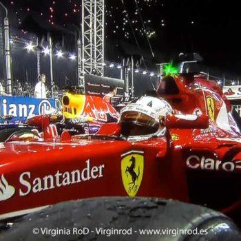 GP Singapur F1: Bacheado, frenos, tracción y temperatura.