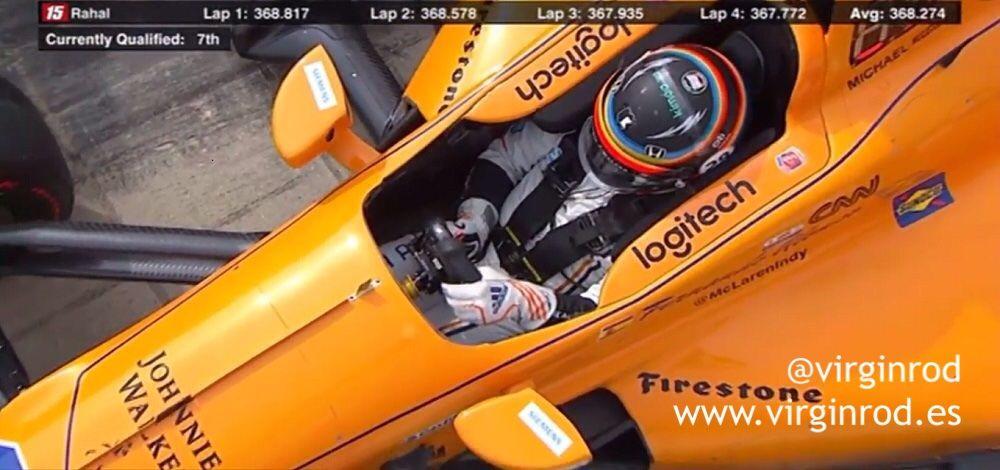Fernando Alonso IndyCar 2017- Virginrod Marketing Deportivo